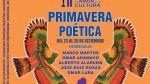 II Festival Primavera Poética, 2014 celebra a cinco escritores - Noticias de leoncio ruiz