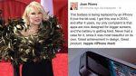 ¿Joan Rivers promueve el iPhone 6 desde el más allá? - Noticias de