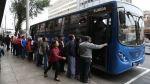 Editorial: Una lección del bus azul - Noticias de huelga