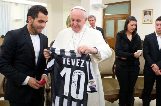 Los momentos y celebraciones más curiosas de Tévez en la Juve