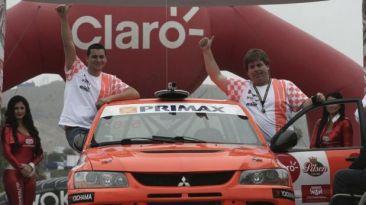 Raúl Orlandini ganó la primera etapa de Caminos del Inca 2014