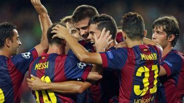 Barcelona defiende su invicto en la Liga ante el Levante