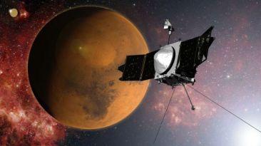 Sonda se acerca a Marte para investigar cómo perdió su agua