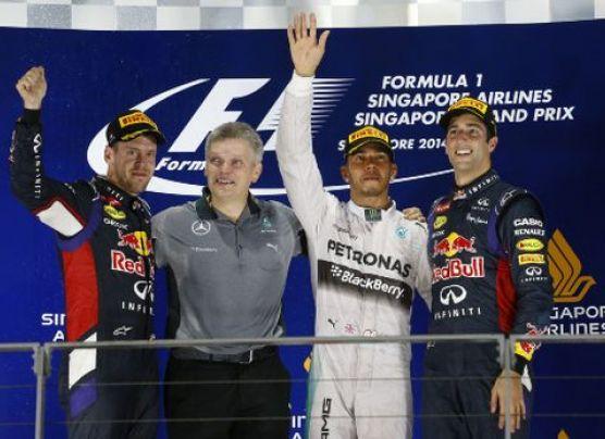 Hamilton toma la punta en la Fórmula 1