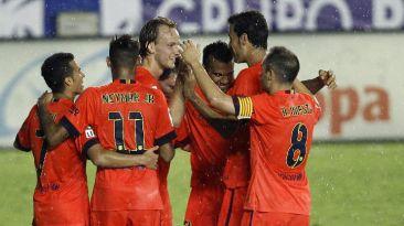 Puntaje perfecto: Barcelona goleó 5-0 al Levante