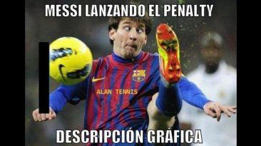 Memes a Messi por su penal fallado y asistencias con el Barza