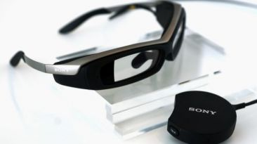 SmartEyeglass, los lentes que competirán con Google Glass