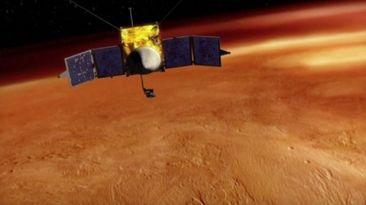 Llegó al planeta Marte el explorador Maven de la NASA