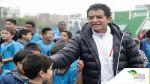 Distinguieron al entrenador Juan José Oré en San Borja - Noticias de