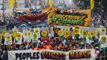 Miles marchan en todo el mundo contra el cambio climático - Noticias de