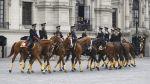 Así fue el Cambio de Guardia Montada en Palacio de Gobierno - Noticias de cambio de guardia