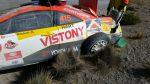 Así quedó auto de Mario Hart tras accidente en Caminos del Inca - Noticias de pilotos