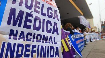 Minsa: sanciones para médicos en huelga se sabrán esta semana