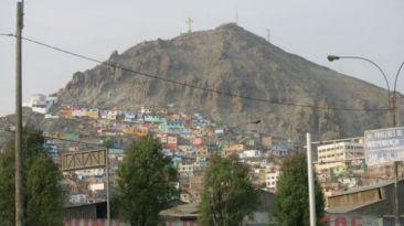 Arengas terroristas en cerro San Cosme serán investigadas