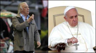 Basile y el día que echó de un vestuario al papa Francisco