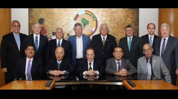 Conmebol paga US$10 mil al mes a cada presidente de federación