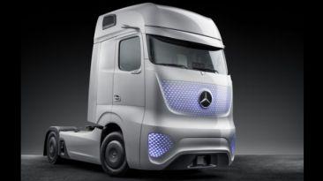 VIDEO: Presentan camión futurista de Mercedes-Benz