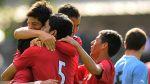 Selección peruana Sub 20 venció 2-1 a Uruguay en amistoso - Noticias de