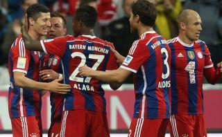 Bayern Múnich goleó 4-0 al Paderborn por la Bundesliga