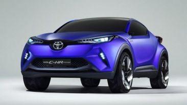 Primeras imágenes del Toyota C-HR Concept