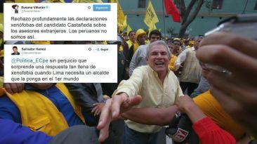Villarán y Heresi acusan de xenofobia a Luis Castañeda