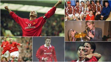 David Beckham debutó hace 22 años en el Manchester United
