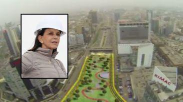 Madeleine Osterling plantea construir parque sobre Vía Expresa