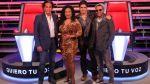 """RÁTING: """"La voz Perú"""" regresó a la TV con tibia sintonía - Noticias de rating"""