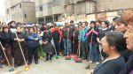 Minoristas de ex mercado La Parada realizaron plantón - Noticias de la parada