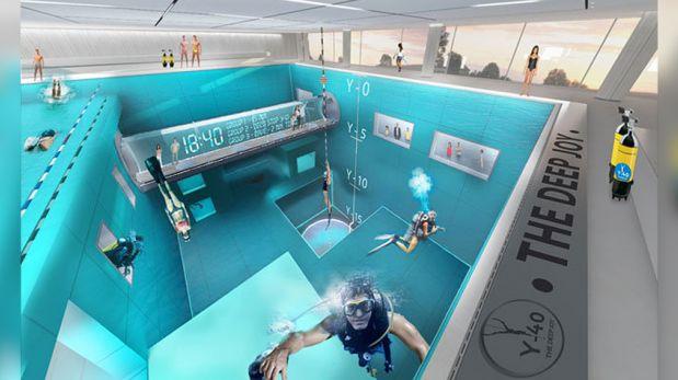 Y 40 deep joy la piscina m s profunda del mundo taringa for Piscina mas profunda del mundo