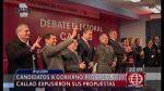 Félix Moreno faltó a debate por presidencia regional del Callao - Noticias de felix moreno