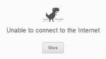 ¿Se fue Internet? Google escondió un minijuego en el Chrome - Noticias de dinosaurio