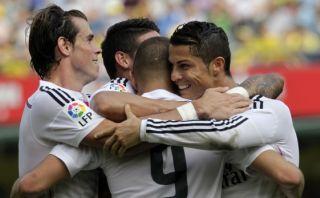 Real Madrid ganó 2-0 a Villarreal de visita con golazo de CR7