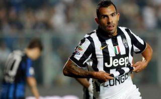 Con doblete de Carlos Tevez, Juventus ganó 3-0 al Atalanta