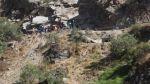 Caída de vehículo a abismo en Ayacucho deja al menos 15 muertos - Noticias de accidentes en carreteras