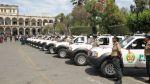 Entregaron 34 patrulleros para Arequipa, Tacna y Moquegua - Noticias de alca