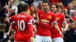 Manchester United ganó sufriendo 2-1 a West Ham por la Premier - Noticias de wayne rooney