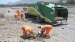 Realizaron campaña de limpieza del río Lurín - Noticias de contaminación ambiental