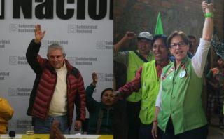 ¿Por quién votarían Humala, Keiko y García para la alcaldía?