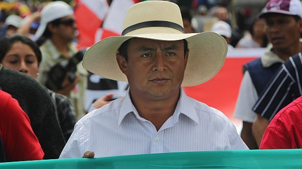 Gregorio Santos lidera la intención de voto en Cajamarca