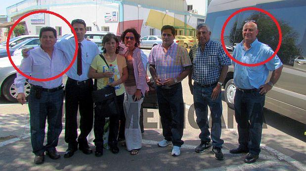 Cita en Israel. Antes de que el Caso Ecoteva se revele, León y Dan On se reunieron. (Foto: Panamericana)