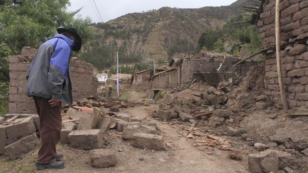Sismo en Cusco: reubicarían a pobladores de zona más afectada