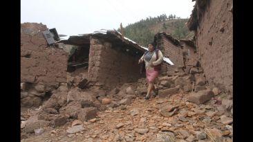 Destrucción y desolación en Cusco tras sismo de 5,1 grados