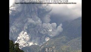 La apocalíptica erupción del volcán Ontake [VIDEO]