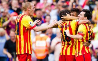 "Mathieu del Barcelona: ""Yo quería jugar contra Ibra"""