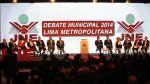 Los 13 candidatos a la Alcaldía de Lima en el debate del JNE - Noticias de elecciones municipales 2014