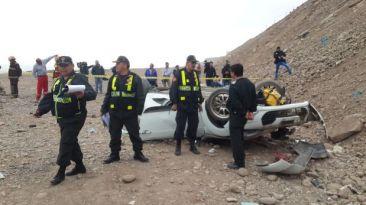 Hija de Carlos Burgos murió en accidente en la Av. Costanera