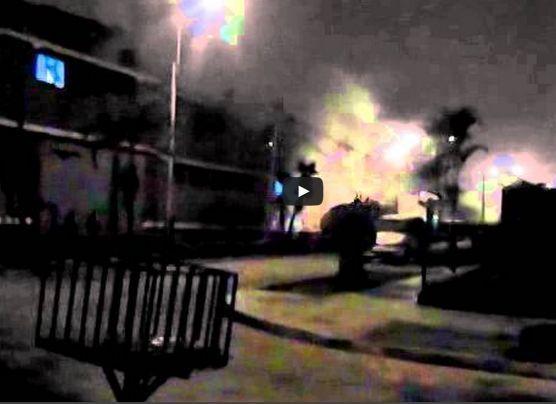 La terrible explosión en complejo policial de Surquillo [VIDEO]