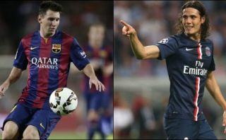 PSG y Barcelona se enfrentan en París por la Champions League