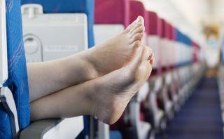 Pasajeros comparten fotos de las peores situaciones en un avión